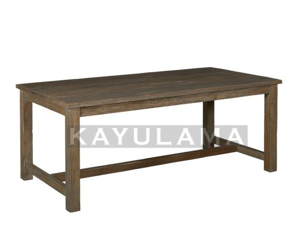 reclaimed wood furniture pine dining table