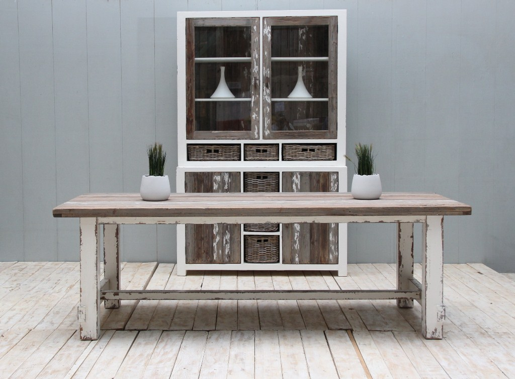 Reclaimed Pine Furniture - Aimann Dining Table