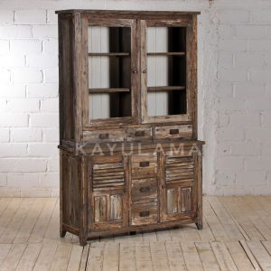 VENICE ANTIQUE VITRINE CABINET FOR SALE