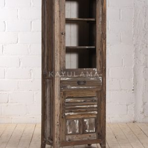 small reclaimed vitrine cabinet