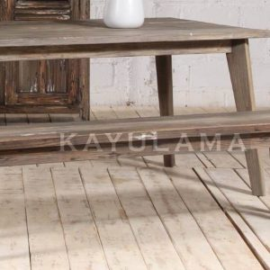 antique reclaimed wood furniture pine bench