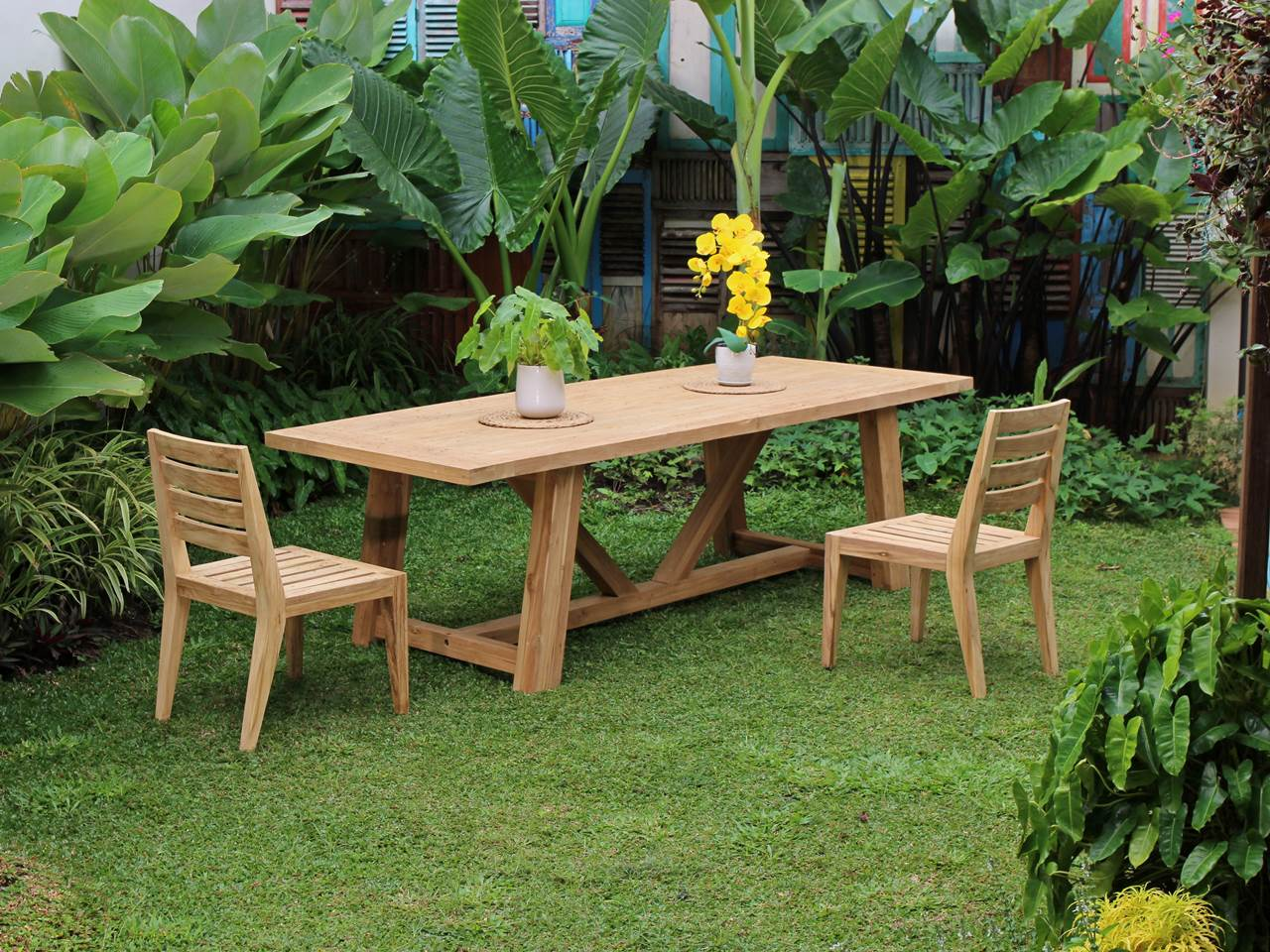 Teak Outdoor Furniture DANKEE-TABLE