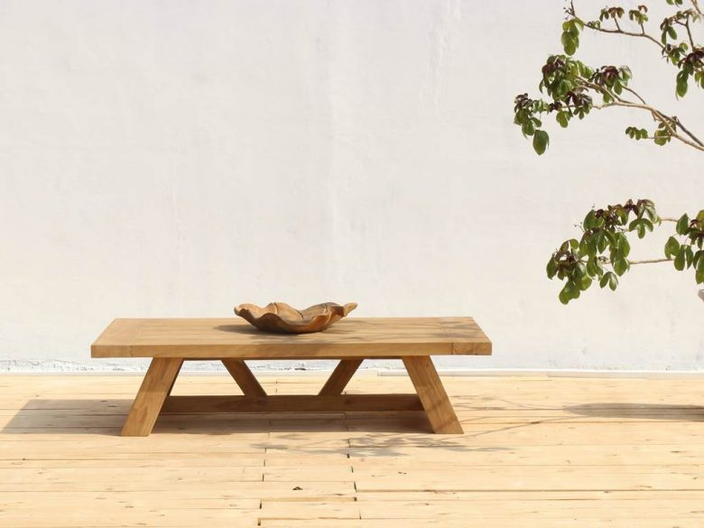 Teak Outdoor Furniture Coffee Table