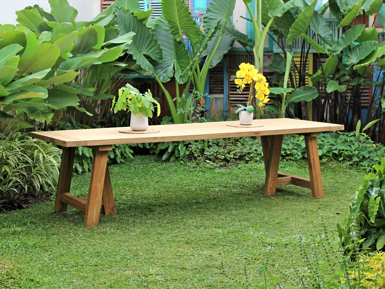 Teak Outdoor Furniture MERCI-TABLE