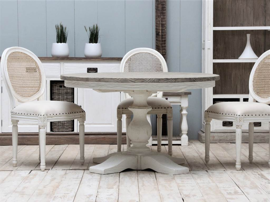 Ellena ROUND-TABLE-NE02-AND-CHAIR-NE07
