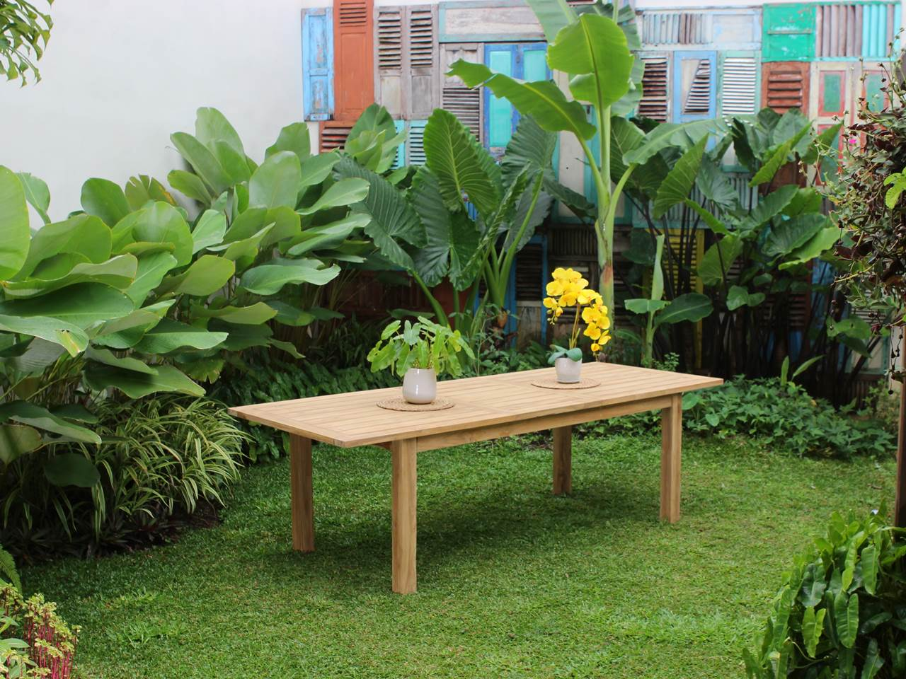 Teak Outdoor Furniture URBAN-EXT-TBLE