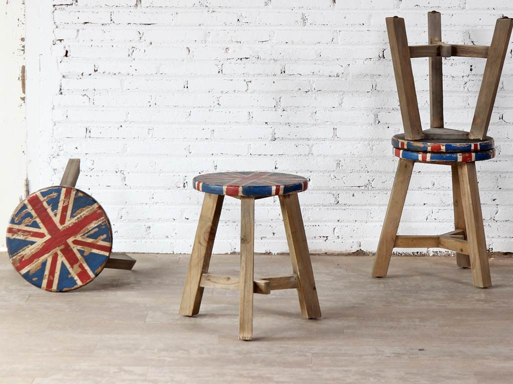 Solitaire British-stool