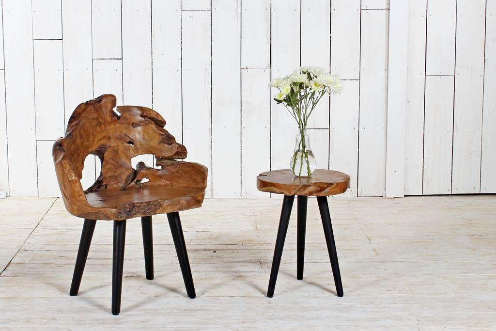 Organic Furniture chair-console
